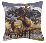 A Distant Call Tapestry Pillow