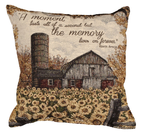 A Moment Lasts Tapestry Pillow