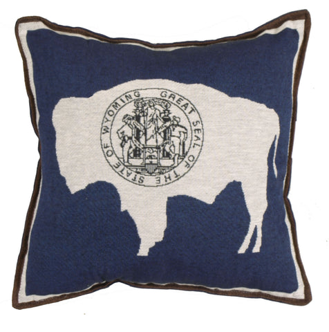 Pillow - Flag Of Wyoming Pillow