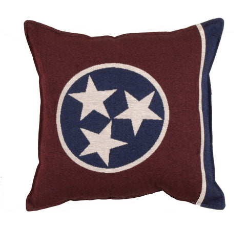 Flag Of Tennessee Tapestry Pillow
