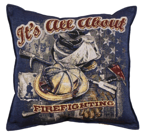 All About Firefighting 17 In Pillow