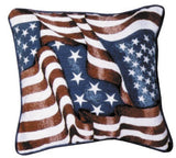 Tapestry - Flag Collage Throw