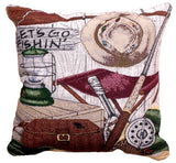 Pillow - Let'S Go Fishing Pillow