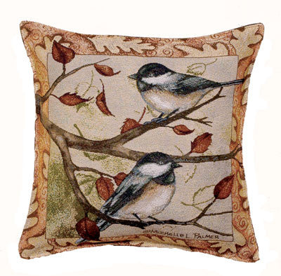 Pillow - Autumn Chickadee Pillow