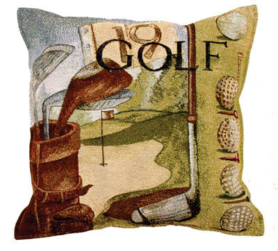 Vintage Golf Pillow