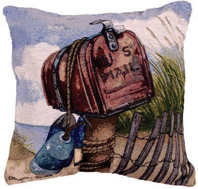 Pillow - Coastal Mail Pillow