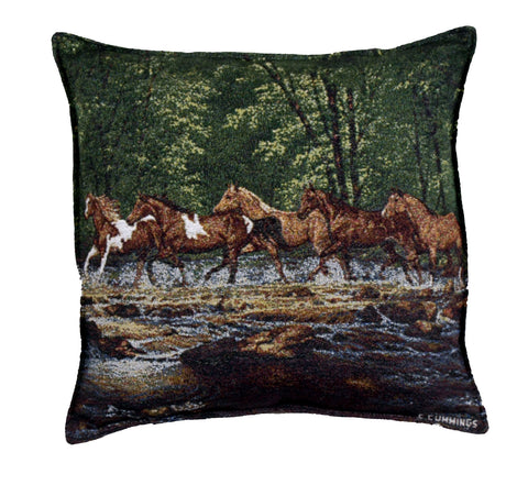 Spring Creek Run Pillow (Ptp907)