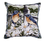 Pillow - Bluebird Summer Pillow