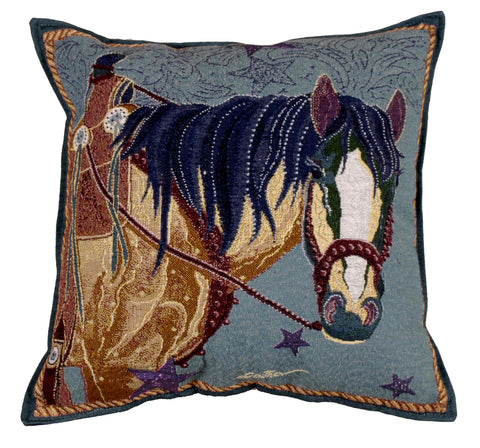 Pillow - Horse Of Many Colors Pillow