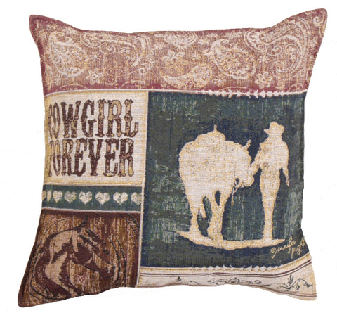 Pillow - Cowgirl Forever Pillow