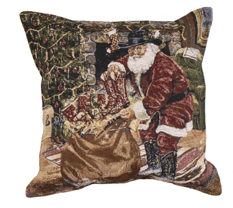 New Boots Tapestry Pillow