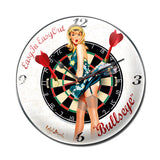 Bullseye Metal Sign Wall Decor 14 x 14