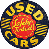 Used Car Sign Round 14