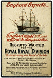 Vintage England Royal Naval Sign