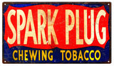 Vintage Chewing Tobacco Sign 8x14