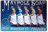 Vintage Maypole Soap Sign
