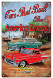 Vintage Chevrolet Automobile Sign