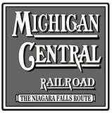 Michigan Central Railroad Sign 12x12