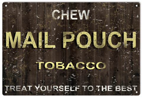 Vintage Mail Pouch Tobacco Sign
