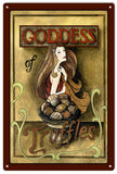 Vintage Goddess Truffle Sign