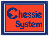 Chessie System Railroad Sign 9x12