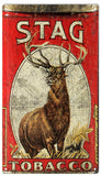 Vintage Stag Tobacco Sign 8x14