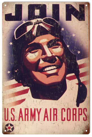 Vintage Join US Army Corps Sign
