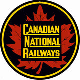 Canadian National Railways Sign 14 Round