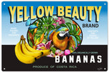 Yellow Beauty Banana Sign