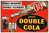 Vintage Double Cola Sign