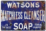 Vintage Watson Soap Sign