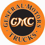 General Motors Truck Sign 14 Round