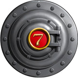 Railroad Engine Door Sign 14 Round