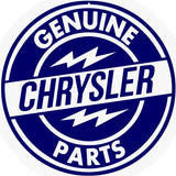 Chrysler Parts Sign 14 Round
