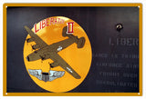 Timeless Nose Art Liberator Sign