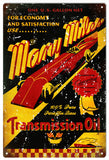 Vintage Many Miles Motor Oil Sign