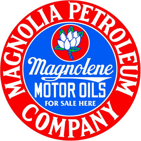 Magnolia Petroleum Comp Sign 14 Round