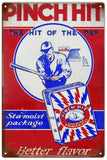 Vintage Pinch Hit Tobacco Sign