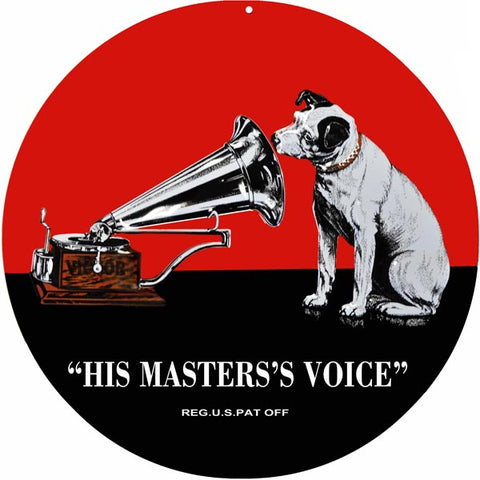 His Masters Voice Sign 14 Round