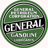 General Petroleum Flange Sign 15x171/2