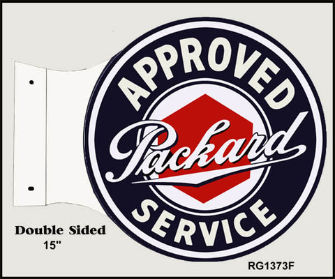 Packard Flange Service Sign 15x171/2