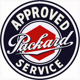 Packard Service Sign 14 Round