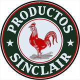 Sinclair Motor Oil Sign 14 Round