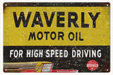 Vintage Waverly Motor Oil Sign