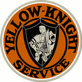 Yellow Knight Service Sign 14Round