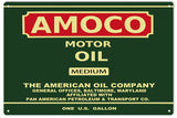 Amoco Motor Oil Sign