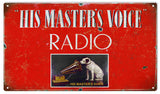 Vintage His Masters Voice