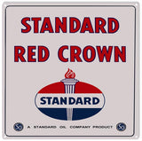 Standard Red Crown Sign 12x12