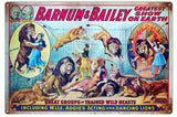 Vintage Barnum And Bailey Circus Sign