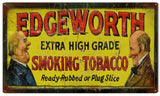 Vintage Edgeworth Tobacco Sign 8x14